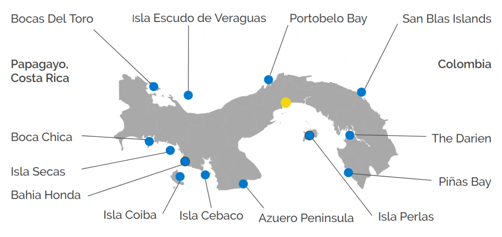Destination Panama Map
