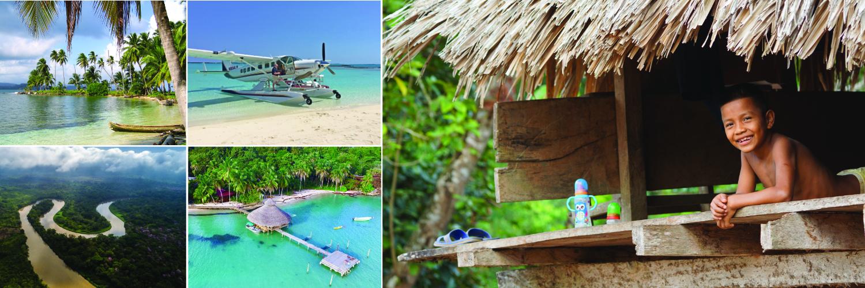 Panama Seaplane Photo Montage 1500x500